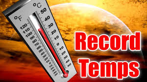 Record Temperatues 8-14-19