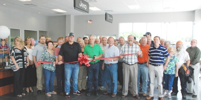 Jacky Jones Murphy Nc >> Jacky Jones Chrysler, Dodge, Jeep Ram Holds Ribbon Cutting Ceremony – WRWH