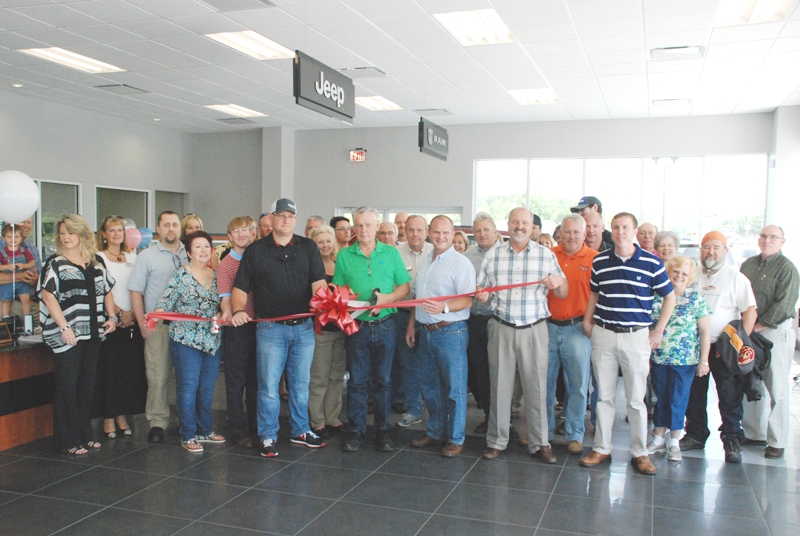 Jacky Jones Chrysler Dodge Jeep Ram Holds Ribbon Cutting