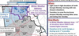 Winter Weather Advisory Issued For Northeast Georgia