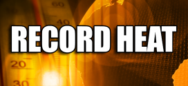 Record Breaking Heat In October In White County
