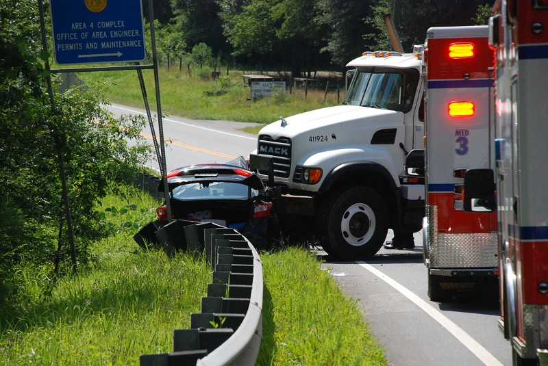 One Person Dies In Two Vehicle Accident North Of Cleveland