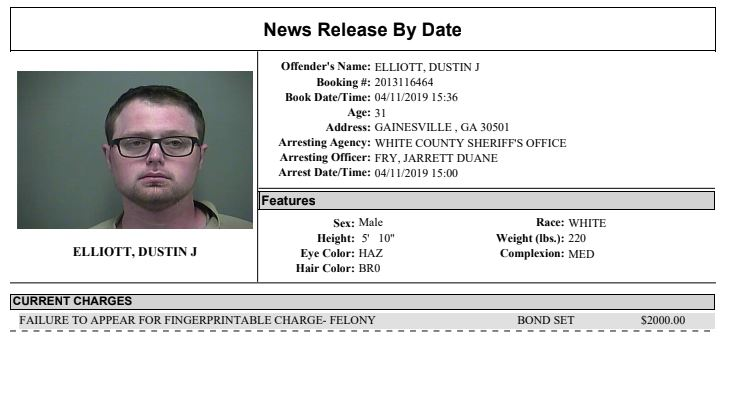 White County Detention Center Report Week Ending 4-16-19 – WRWH