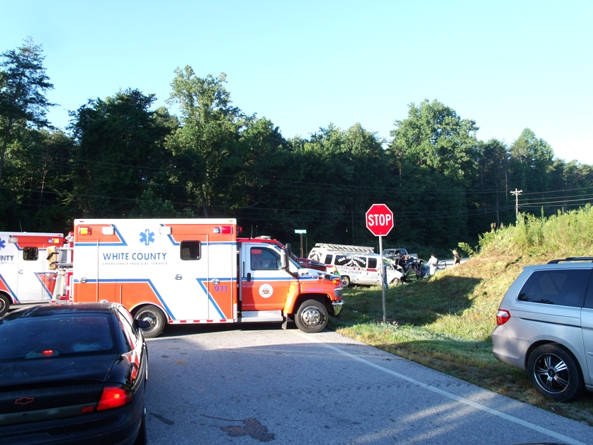 Three Injured In 115 West Accident