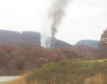 Fire Destroys Home Starts Major Woods Fire