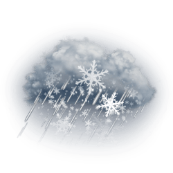 Wintery Mix Expected Overnight