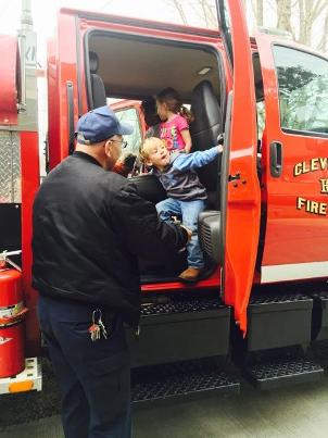 Cleveland Fire Department Provides Fire Safety Class