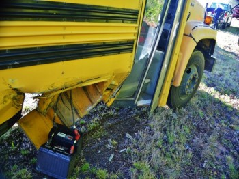 Two Adults Hurt In Wreck Involving White County School Bus