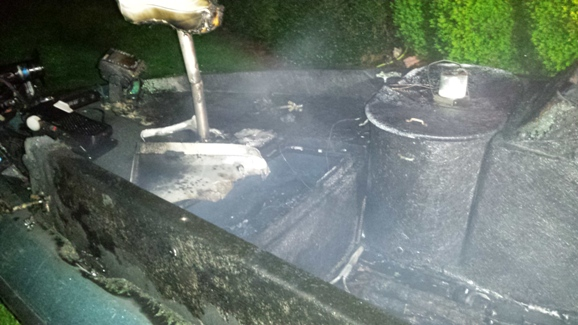 Boat Destroyed By Early Morning Fire