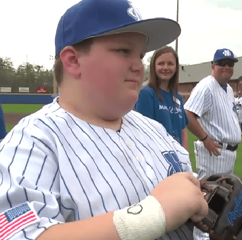 A FIELD OF DREAMS: Make-A-Wish Day Provides Cailen Rundles With The Memory Of A Lifetime