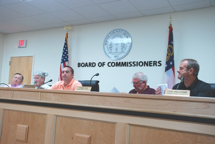 County Commissioners Set Tax Millage Rate
