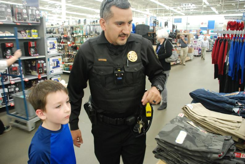 Shop With A Cop Helps Children In The Area