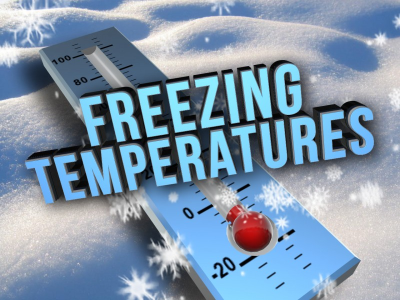 Special Weather Statement – Freezing Temperatures Expected