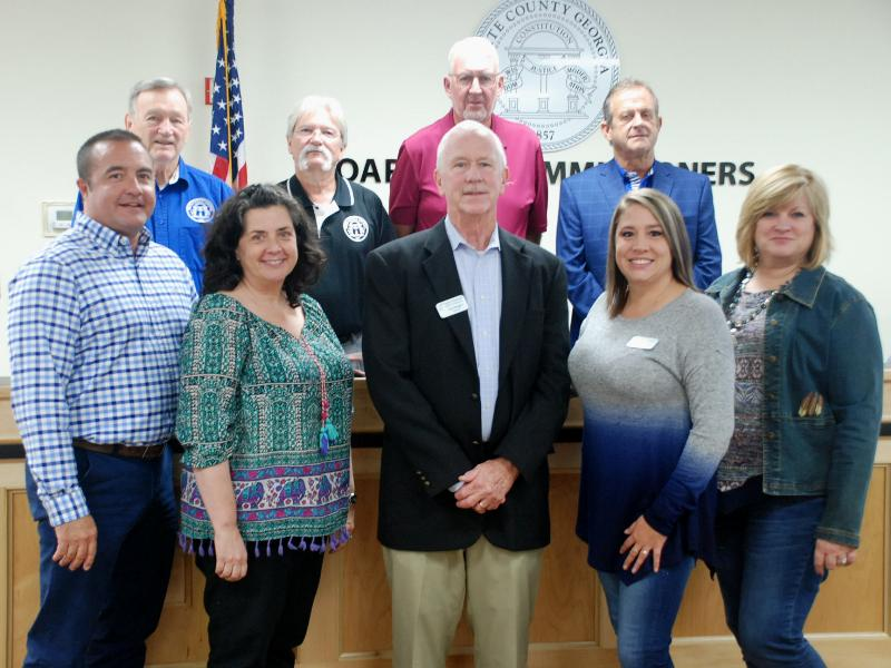 White County Commissioners Recognize County Residents