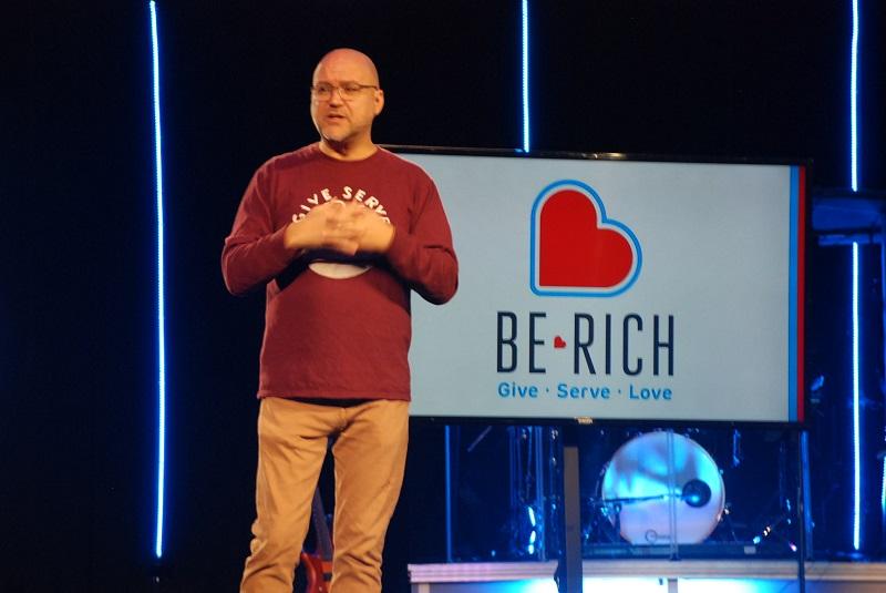 The Bridge Church Celebrates,  Be Rich-Give-Serve-Love Campaign