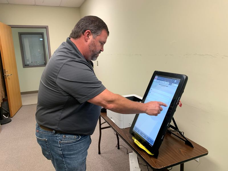 See, Touch And Try Georgia's New Voting Machines