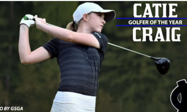 White County's Catie Craig Blitz Sports Golfer Of the Year