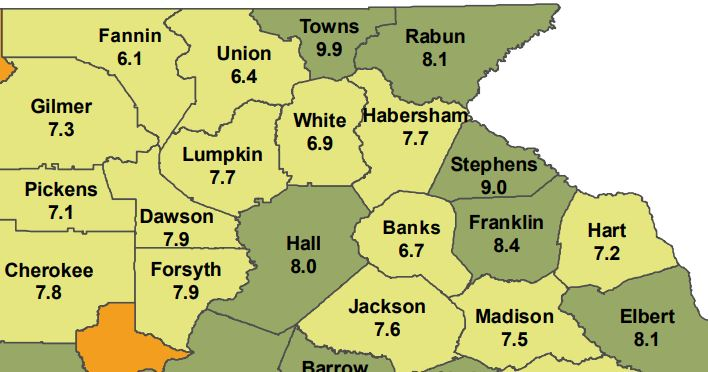 Unemployment Rate Drops To 6.9 Percent In White County