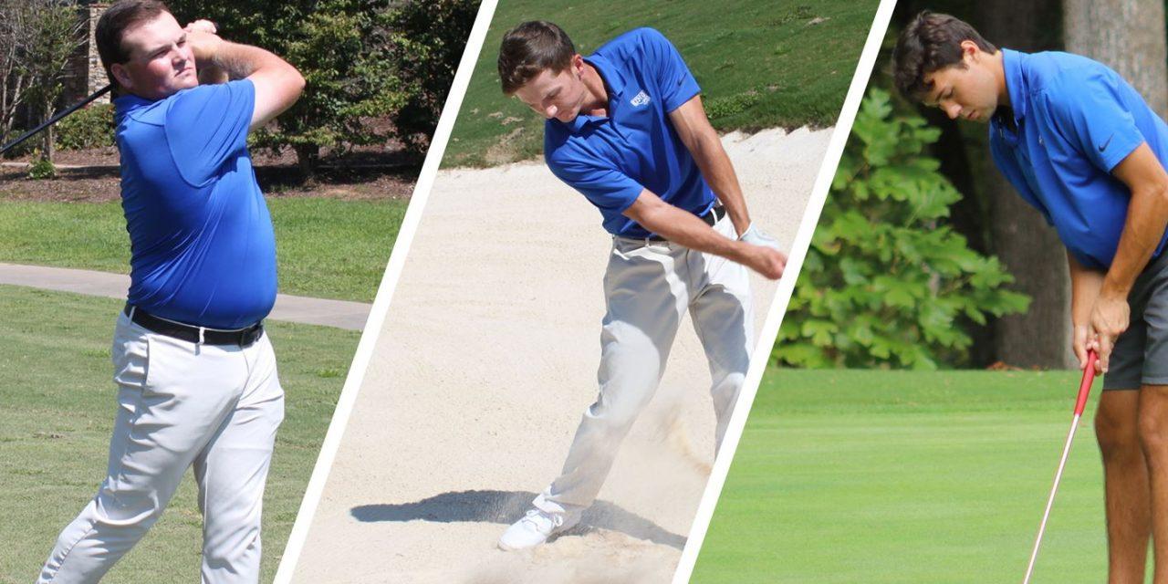 Three Men's Golfers Named GCAA All-America Scholars