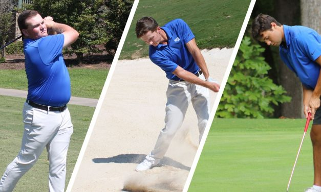 Three Men's Golfers Named GCAA All-America Scholars