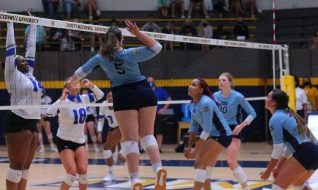 TMU Rallies To Win Season Opener In Five