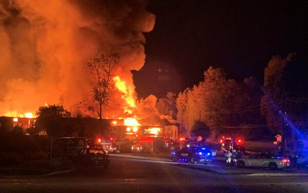 UPDATE- Major Commercial Fire In Cleveland Thursday Morning