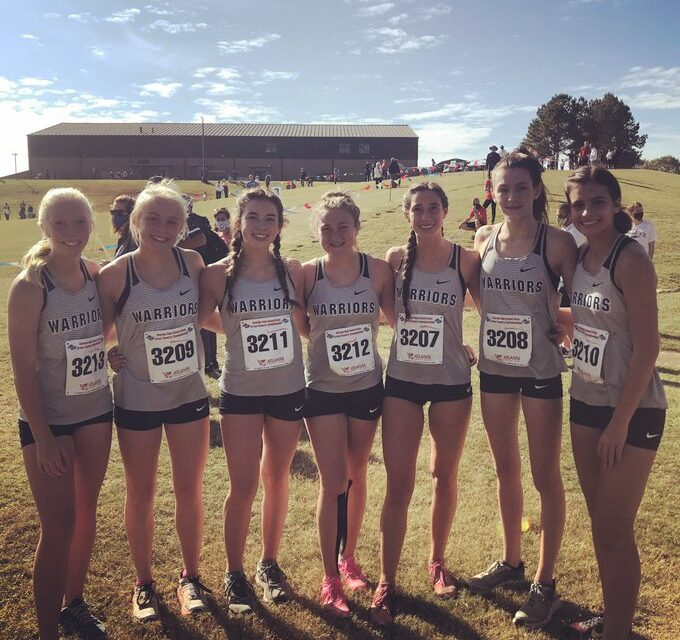 WCHS Girls Place 4th In State Cross Country Meet