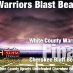 Warriors Blast Bears' Hopes For Undefeated Season