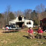 Skitts Mountain Home Damaged By Fire Thursday