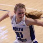 No. 12 UNG Women's Basketball Pushes Past Patriots, 77-65