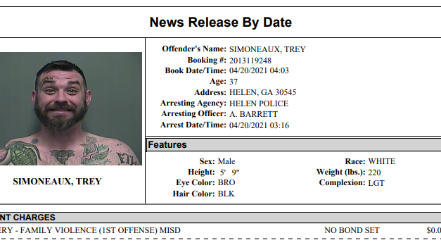 White County Detention Report – Ending April 19th