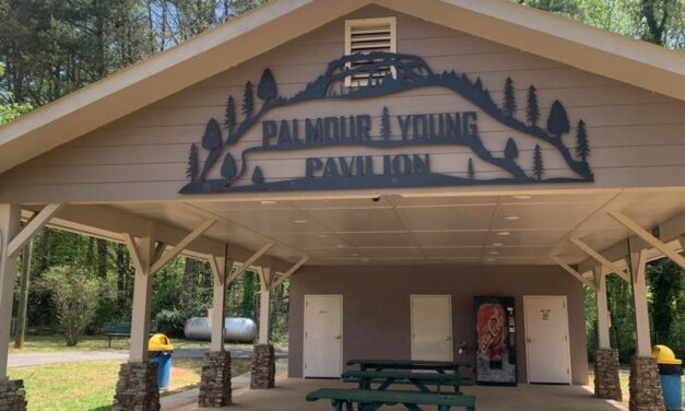 Park Pavilions Named In Honor John Palmour And Edward Young