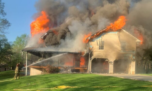 White County Home Destroyed By Fire Monday