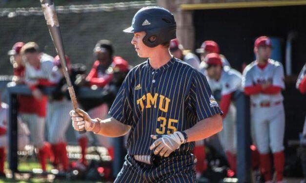 TMU Baseball completes series sweep over No. 13 Bryan