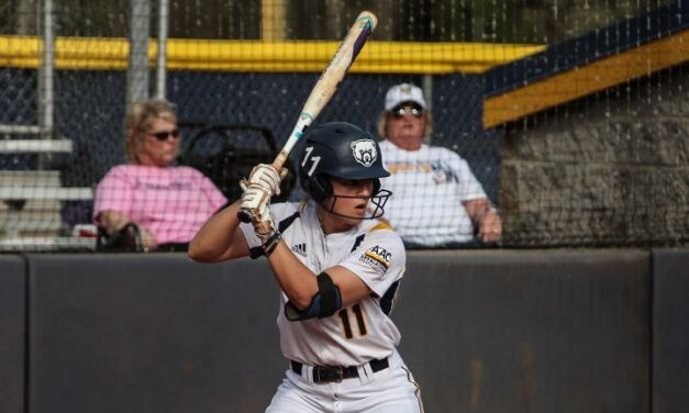 No. 20 Lady Bears split at Brenau after 10-inning game two