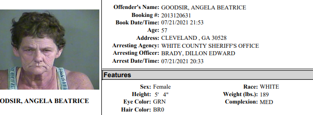 White County Detention Center Report Week Ending July 26th