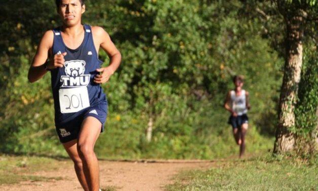 Bears Cross Country finish fifth in season opener