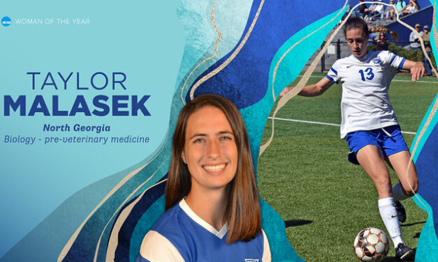 UNG's Malasek Named to NCAA Woman of the Year Top 30