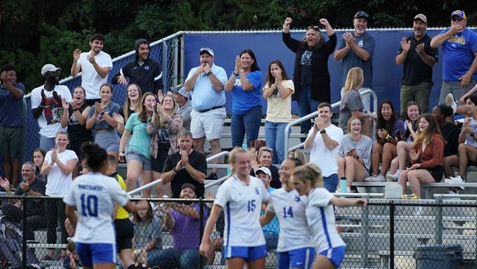 UNG Women's Soccer Extends Winning Streak to Seven in 3-0 Win Over Emmanuel