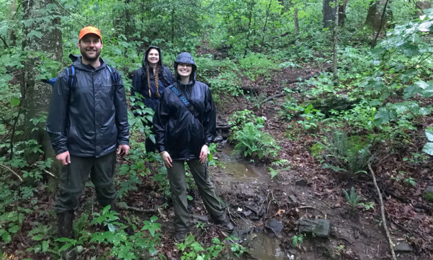 IESA faculty and students map Unicoi Wagon Trail